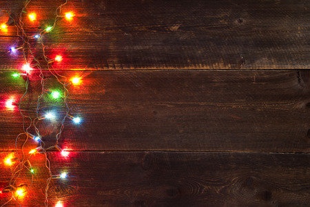 christmas light background photo