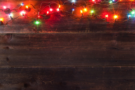 christmas light background 免版税图像