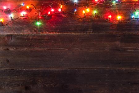 christmas light background Standard-Bild