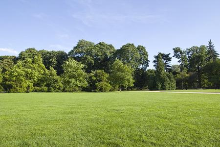 park landscape Banque d'images