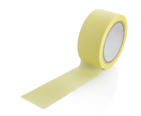 clipping: paper tape with clipping path Stock Photo
