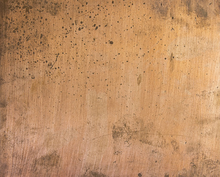copper plate texture Stock Photo