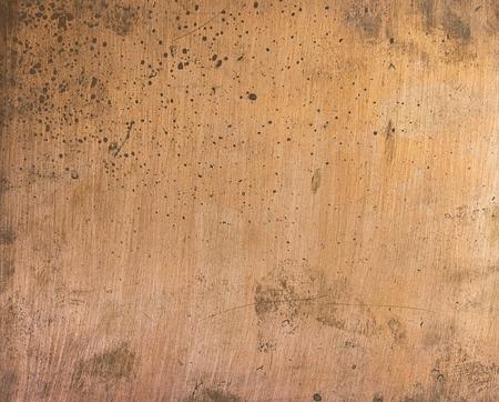 copper plate texture Stock Photo