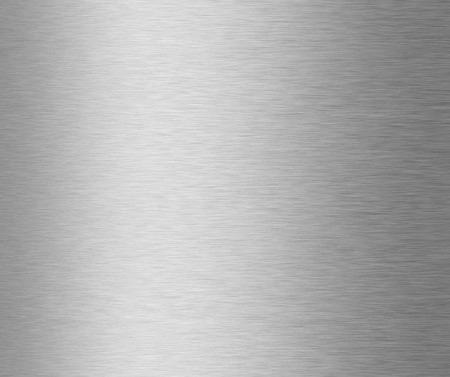 acier: texture en métal brossé