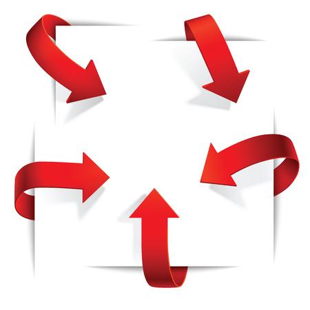 vector arrows: set of vector arrows