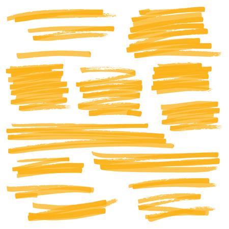 Serie de dibujo de marcadores: el color se puede cambiar con un clic