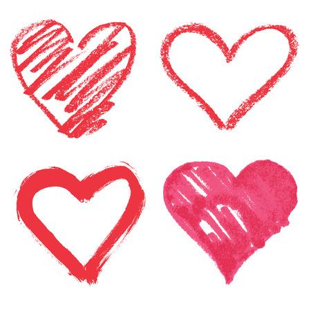 cuore: Vector cuore set