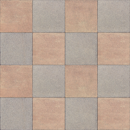 tileable: seamless, tileable pavement texture Stock Photo