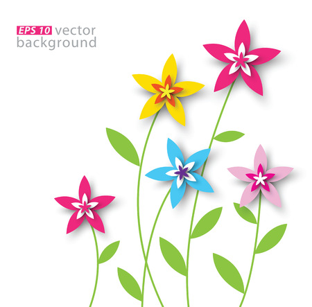 paper background: paper floral background