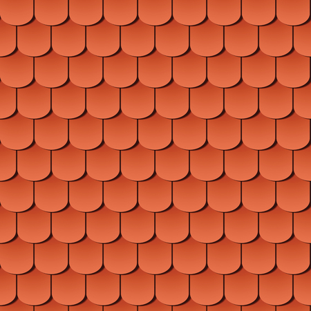 roof: seamless roof tiles, global colors used