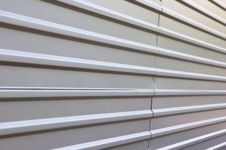 tile cladding: corrugated metal fence background
