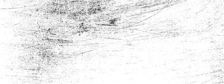 Textuurdrempel metaal met krassen en scheuren Stock Illustratie