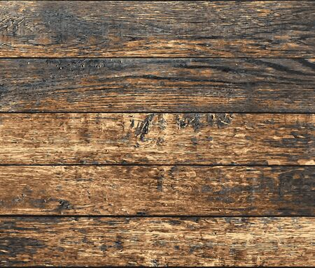 old wooden planks, vector grunge background texture