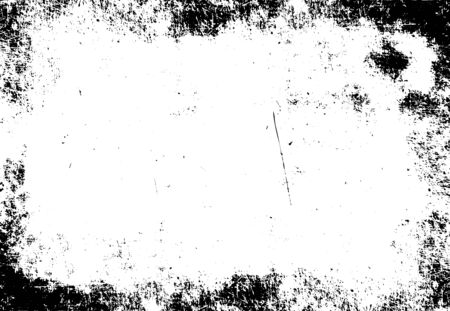 grunge frame texture, vector background template