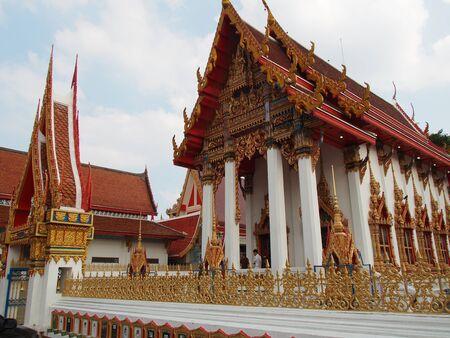thai temple: Temple Thai in Bangkok