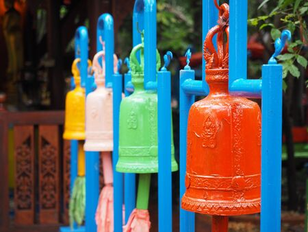 philanthropy: Color Bell in Thailands temple