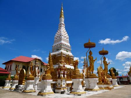 Wat phra that phanom at Nakorn Phanom Thailand Stok Fotoğraf