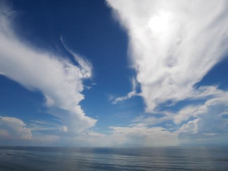 dragon cloud with ocean Stok Fotoğraf