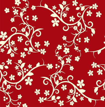 sumptuousness: Seamless luxurious pattern Illustration