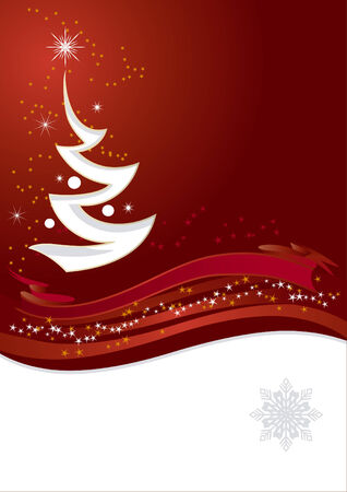 New Years and Christmas background with EPS file Vector