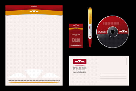 Corporate Identity Template Vector Vector