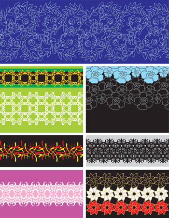 sumptuousness: Collection seamless pattern wallpapers
