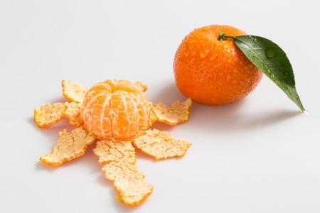 peel: Orange peel