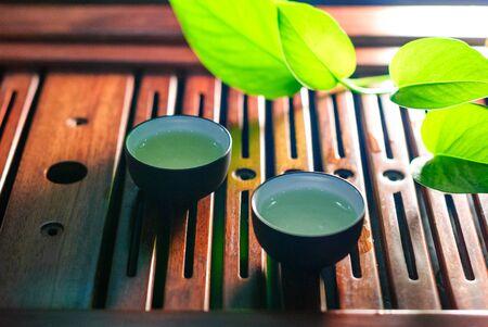 still life of tea photo