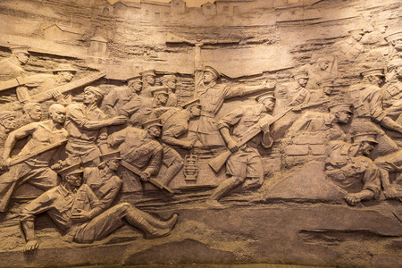 uprising: Stone carved of Bayi Nanchang uprising