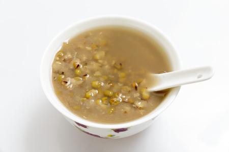 reduces: Bean soup