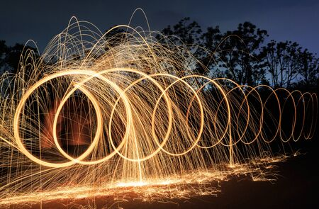 light painting: Light painting photography