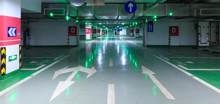 car park interior: Car park Editorial