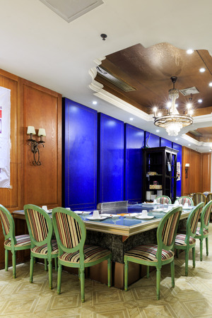 interior design: Interior design of a restaurant