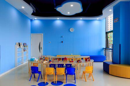 children's: Childrens classroom