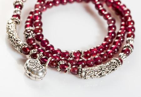 garnets: Garnet Necklace