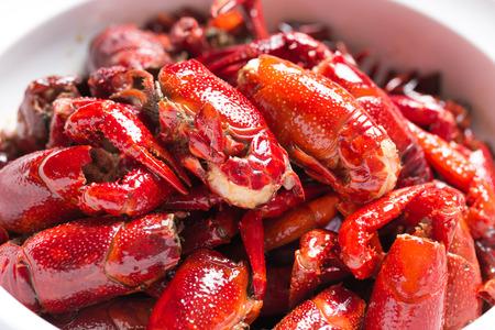 aquatic products: Crayfish Stock Photo