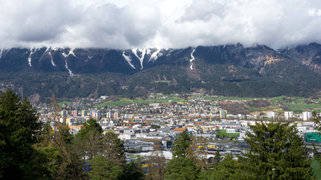 City Landscape of Innsbruck