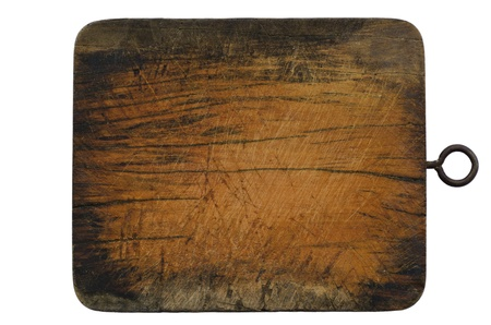 Wood block isolated photo