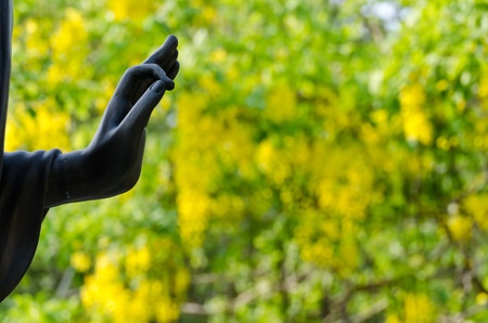 Hand of Buddha statue in Thailand Stock Photo - 12541302