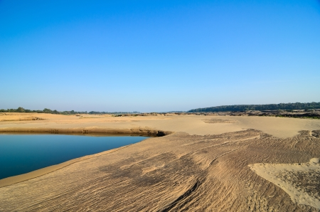 malevolent: pond in Sampanbok , in Mekong River, Ubon Ratchathani  Grand canyon in Thailand