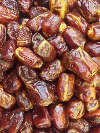 date palm close up view Stock Photo