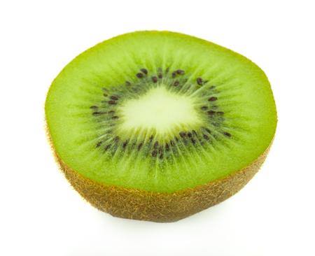 kivi fruit on white background. Stock Photo