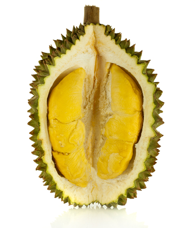durian isolated on white background Фото со стока - 84343252