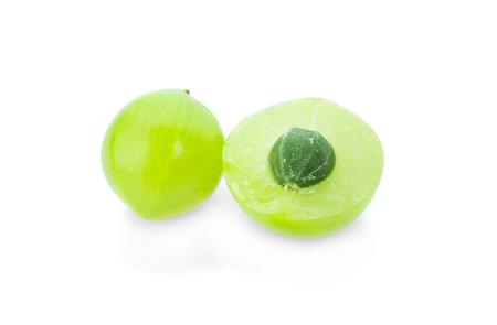 Indian gooseberry isolated on white background Standard-Bild