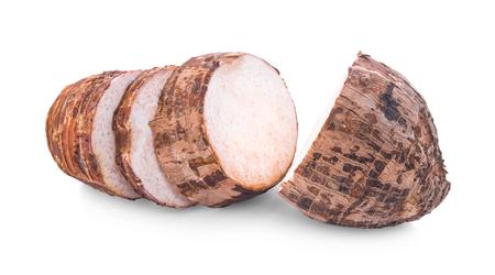 taro isolated on white background