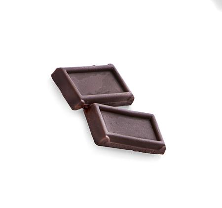 Chocolate isolated on white backround