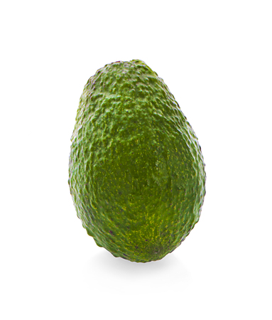 bergamot fruit with leaf isolated on white background Zdjęcie Seryjne