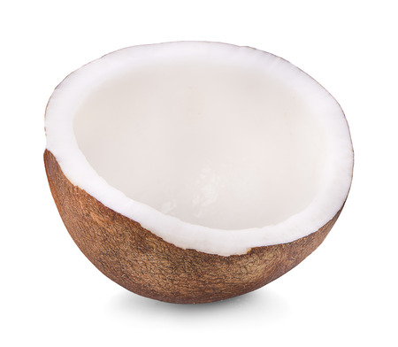 coconut isolated on white background Фото со стока