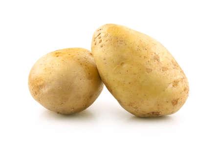 potato an isolated on a white background Reklamní fotografie