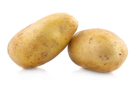 potato an isolated on a white background Standard-Bild